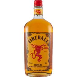 Fireball Liqueur Blended With Cinnamon &...
