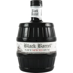 A.H. Riise Black Barrel Navy Spiced Rum