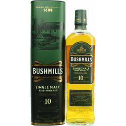 Bushmills Single Malt Irish Whiskey 10 Years