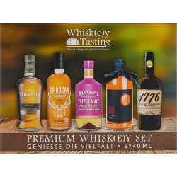Whisky Tasting Box 5x40ml