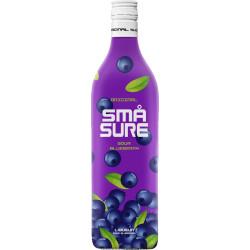Små Sure Sour Shot Blåbærsmag
