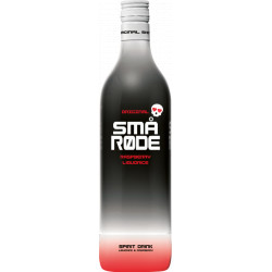 Små Røde Raspberry Liquorice