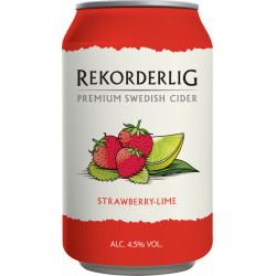 Rekorderlig Strawberry Lime