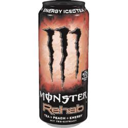 Monster Rehab Iced Tea Peach