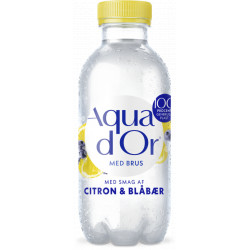 Aqua d'Or Brus Citron & Blåbær