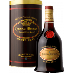 Cardendal Mendoya Brandy Carta Real