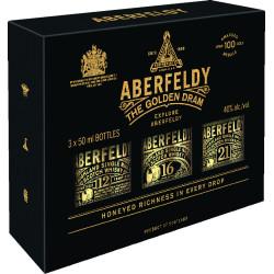 Aberfeldy 12, 16 + 21 years