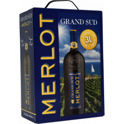 Grand Sud Merlot 3 l.