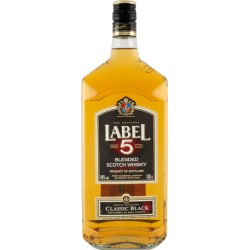 Label 5 Whisky 40% 1,0l Fl.