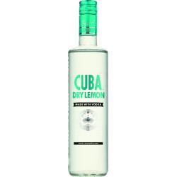 CUBA Dry Lemon Vodka