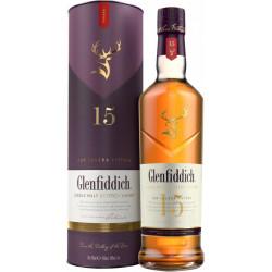 Glenfiddich Single Malt Scotch Whisky 15...