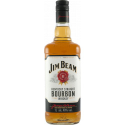 Jim Beam Bourbon 1,0l Fl.