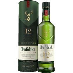 Glenfiddich Single Malt Scotch Whisky 12...